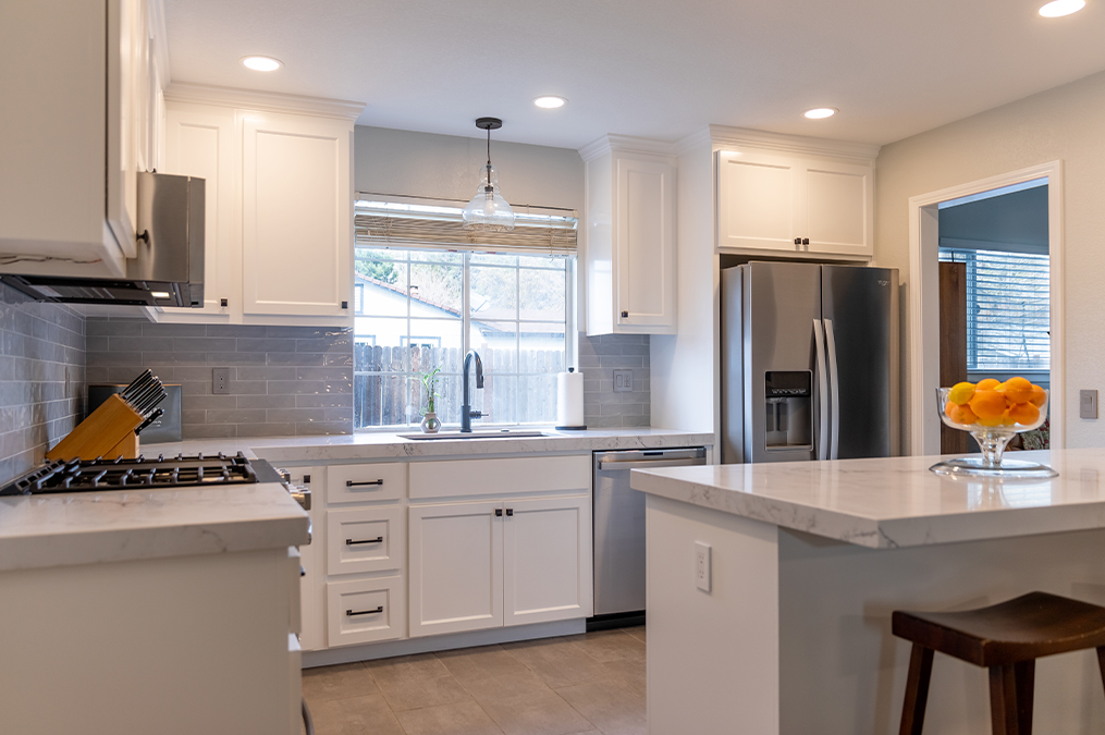 KitchenCRATE Custom Rich Hill Drive in Orangevale, CA is Complete!
