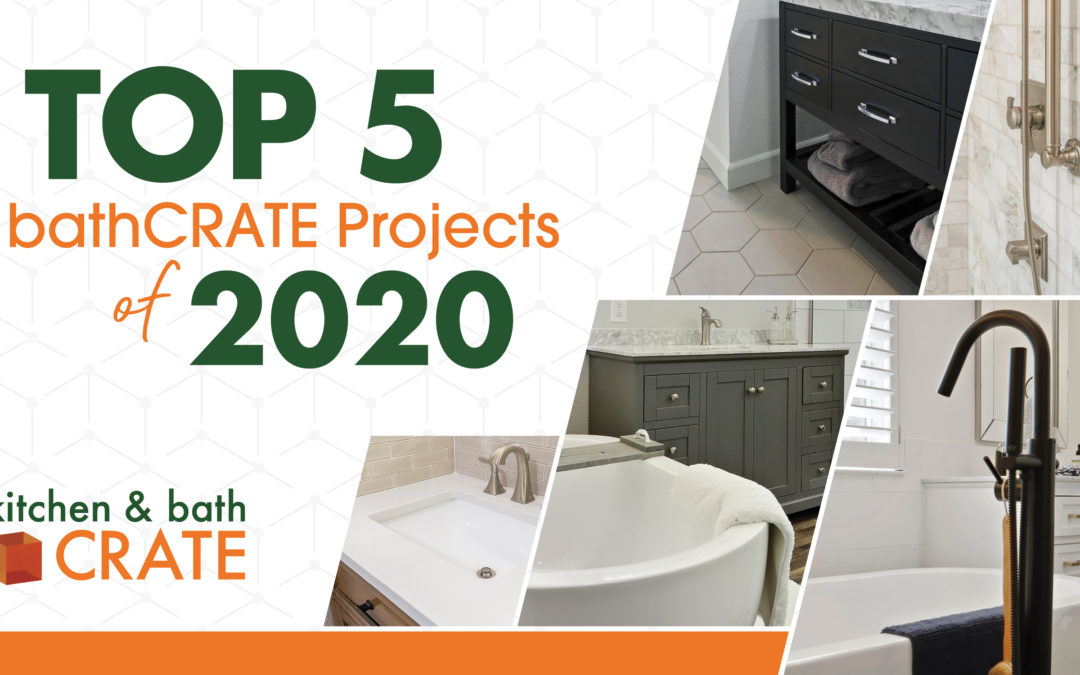 CRATE Reveals Top 5 bathCRATE Projects of 2020
