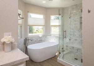 Natural Light Bathroom Remodel