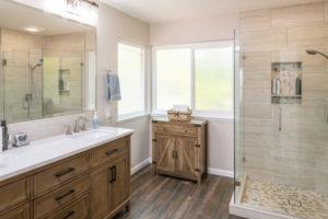 Neutral Colors Bathroom Remodel