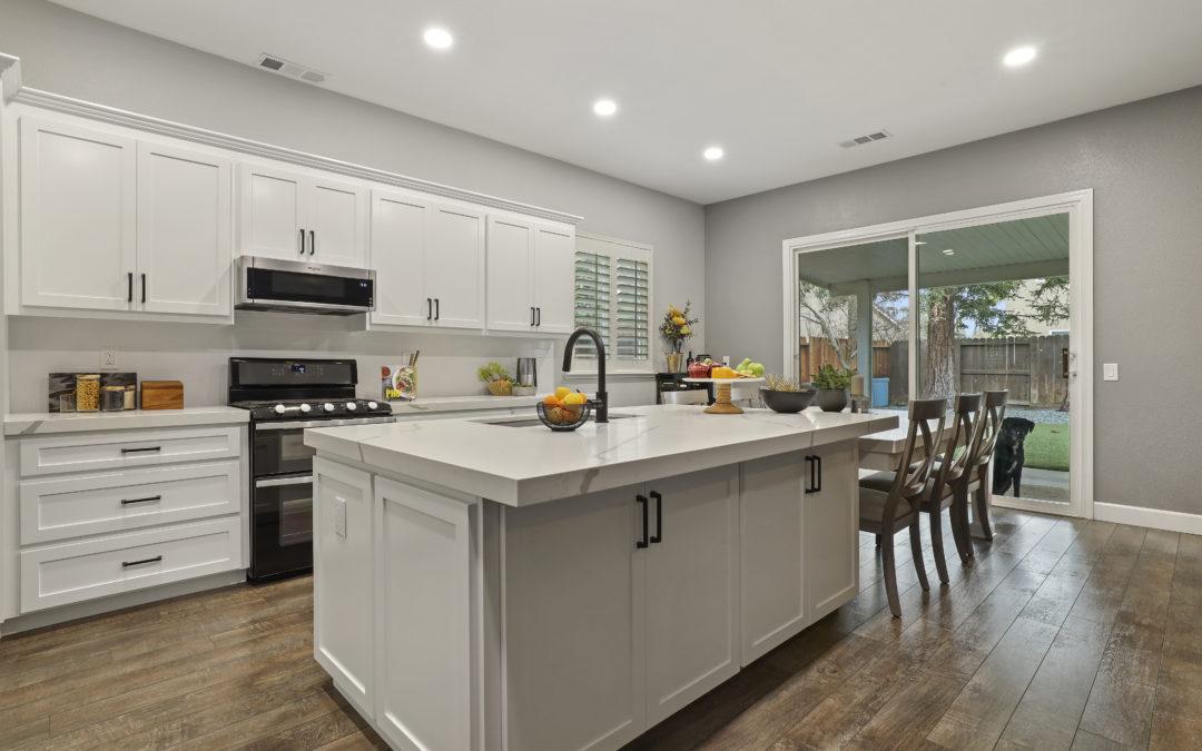 KitchenCRATE Custom Asilomar Court in Modesto, CA is Complete!