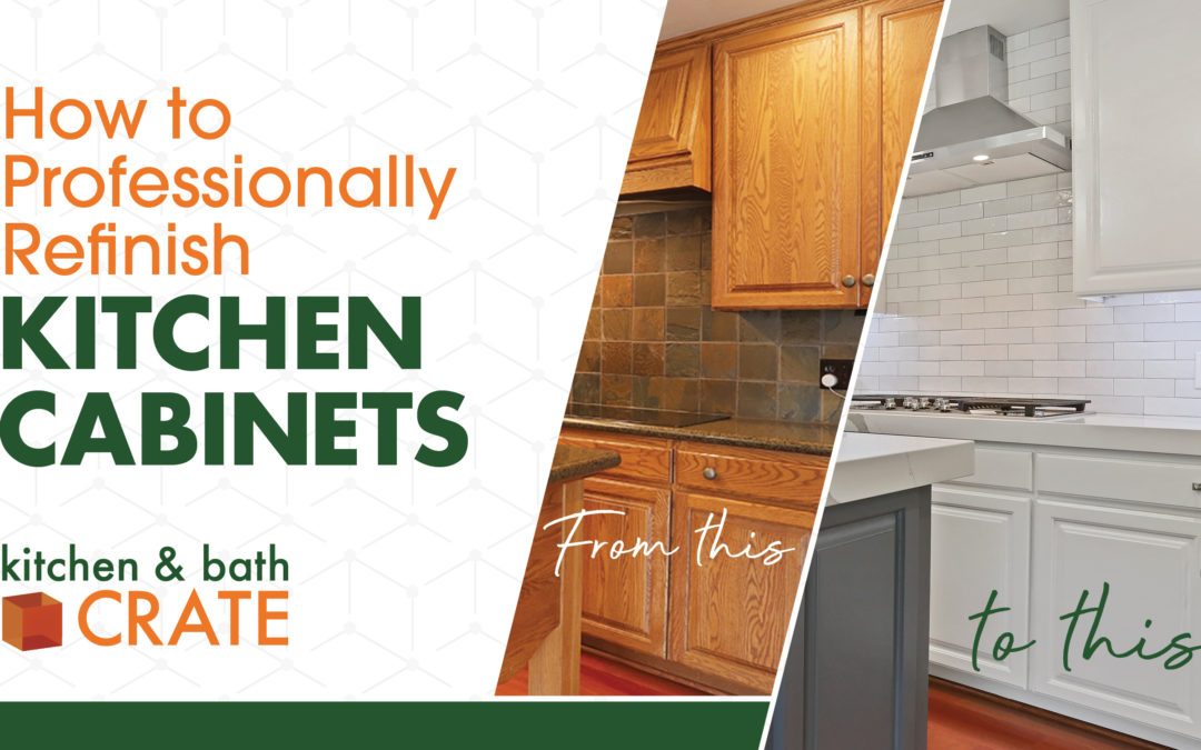 How To Professionally Refinish Kitchen Cabinets