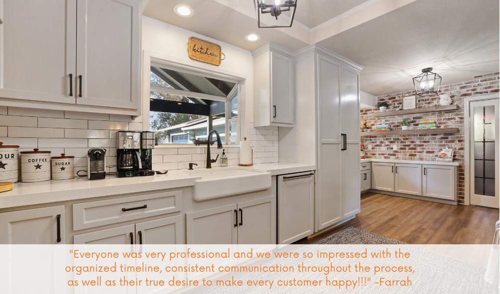 KitchenCRATE Custom North Leach Road in Lodi, CA is Complete!