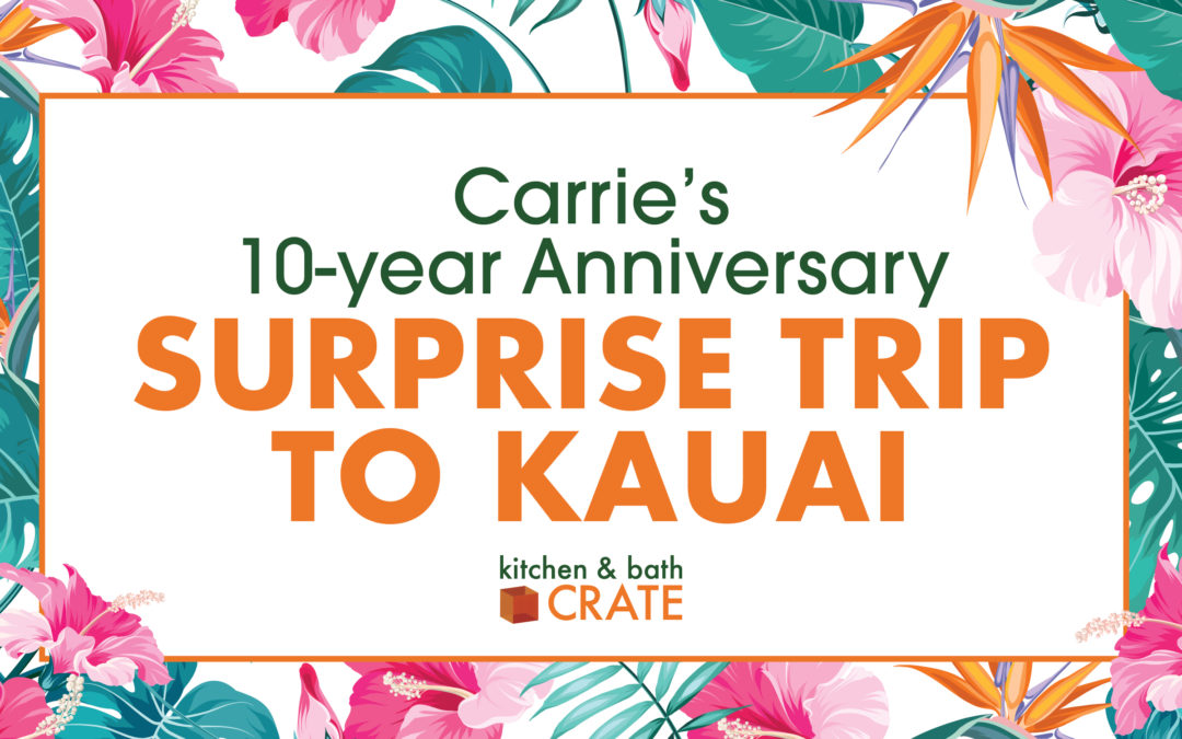 Carrie's 10-Year Work Anniversary Surprise